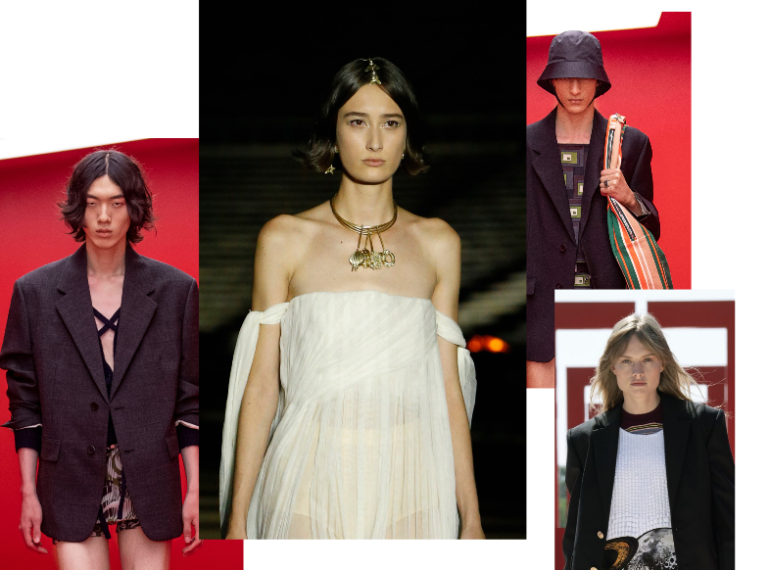 Courtesy of Prada, Dior and Louis Vuitton